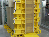 tire inflation cages